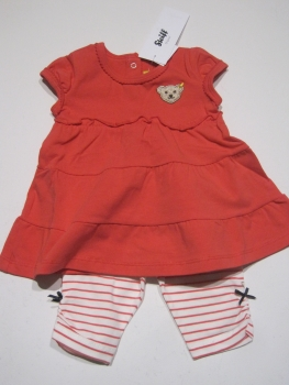 kinderladen daniel steiff baby kleid t shirt sommerkleid gr 62 92 neu f sommer. Black Bedroom Furniture Sets. Home Design Ideas