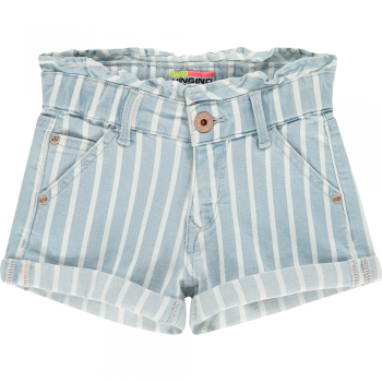 Vingino Mädchen Shorts Jeans Dalmine, Fb. Striped Denim   SALE - 20 %